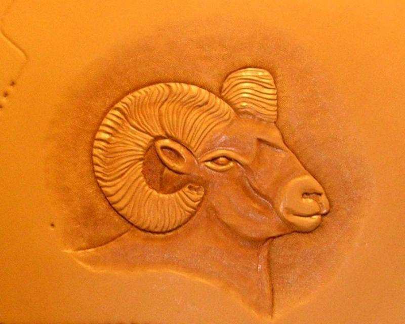 Hand Carved Bighorn