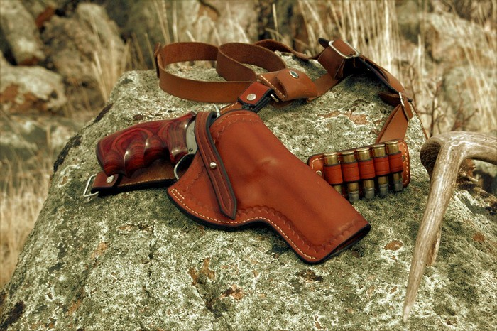 7X Leather - Chest Holster Handgun Carry Made Comfortable